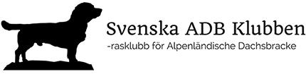 Svenska ADB Klubben – Alpenländische Dachsbracke Logo